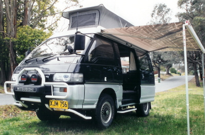 MITSUBISHI L300 POP-TOP ROOF